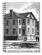 Freedmen School, 1868 Spiral Notebook