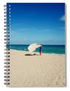 Freedom From Sand Spiral Notebook