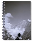 Freedom In The Himalayas In Nepal Spiral Notebook