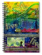 Freedom To Believe - Freedom To Live Spiral Notebook