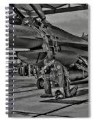 Freedoms Tebowing Spiral Notebook