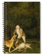 Freeman - The Earl Of Clarendon's Gamekeeper Spiral Notebook
