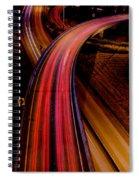 Freeway Lights 1 Spiral Notebook