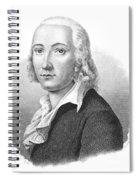 Freidrich H�lderlin Spiral Notebook
