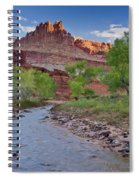 Fremont River And Castle Spiral Notebook