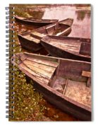 French Antiques Spiral Notebook