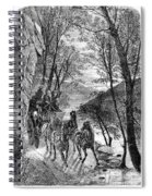 French Broad River, C1873 Spiral Notebook