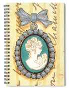French Cameo 1 Spiral Notebook