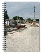 French Cemetery  Spiral Notebook