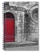 French Church Exterior Spiral Notebook