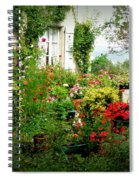French Cottage Garden Spiral Notebook