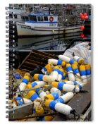 French Creek Trawlers Spiral Notebook