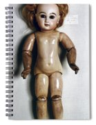 French Doll, 1885 Spiral Notebook