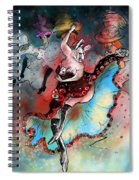 French Kankan Spiral Notebook