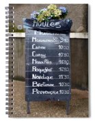 French Mussels Spiral Notebook