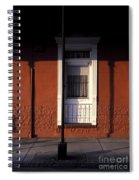 French Quarter Door And Shadows New Orleans Spiral Notebook