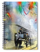 French Quarter In New Orleans Bis Spiral Notebook