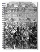French Revolution, 1794 Spiral Notebook