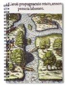 French: Sth. Carolina, 1562 Spiral Notebook