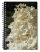 French Vanilla Hydrangea Spiral Notebook