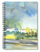 French Village 01 Spiral Notebook