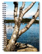 Frenchman Bay Spiral Notebook