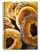 Fresh Bagels Spiral Notebook