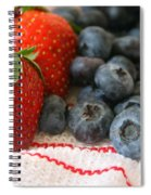 Fresh Berries Spiral Notebook