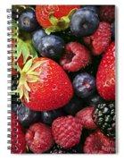 Fresh Berries Spiral Notebook