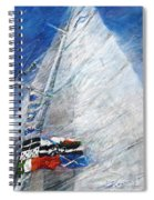 Fresh Breeze Spiral Notebook