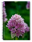 Fresh Chives Spiral Notebook