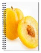 Fresh Plums Spiral Notebook