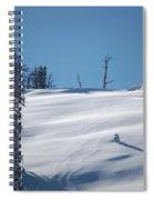 Fresh Powder Spiral Notebook