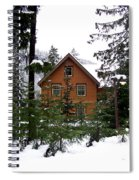 Fresh Snow Glory Spiral Notebook