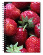 Fresh Strawberries Spiral Notebook