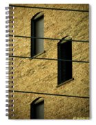 Bass Guitar Frets Spiral Notebook