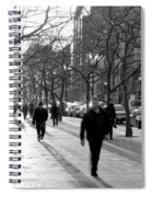 Friday In The City Spiral Notebook