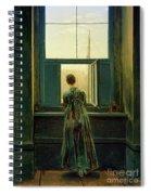 Friedrich Woman 1822 Spiral Notebook