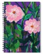 Friendship In Flowers Spiral Notebook