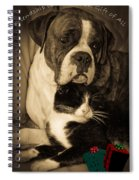 Friendship Is The Greatest Gift Of All Greeting Spiral Notebook