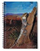Frill-necked Lizard Spiral Notebook