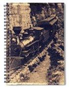 Frisco Steam Train Spiral Notebook