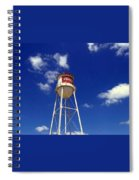Frisco Texas Water Tower Spiral Notebook