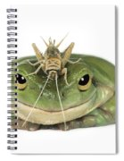 Frog And Grasshopper Spiral Notebook