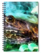 Frog Ready To Be Kissed Spiral Notebook