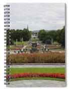 Frogner Park Spiral Notebook