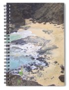 From Here To Eternity Beach Spiral Notebook