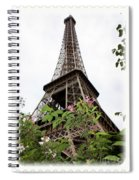 From Paris With Love Spiral Notebook