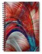 From Sea To Shining Sea Spiral Notebook