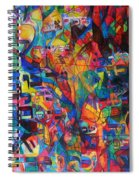 from Sefer Yetzirah the letter Yud Spiral Notebook